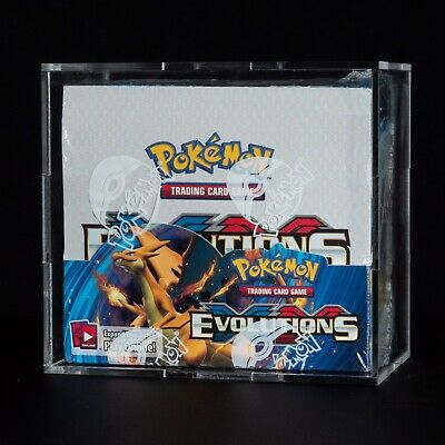 $769.99 • Buy Pokemon TCG - FACTORY SEALED XY Evolutions Booster Box W/ Included Display Case