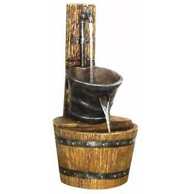 £129.99 • Buy Hamac Tap On Post With Barrel Water Feature