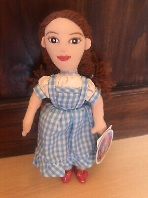 """£8.99 • Buy The Wizard Of Oz Dorothy Soft Beanie Toy 9"""" + Hologram Tag  Best Years"""