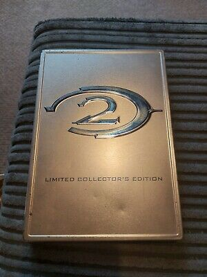 £6.50 • Buy Halo 2 Steel Book Limited Collector's Edition Microsoft XBOX Original Game