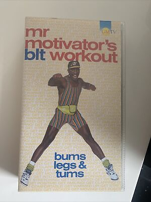 £4.99 • Buy Mr Motivator - Bums, Legs And Tums Workout (VHS, 1994)
