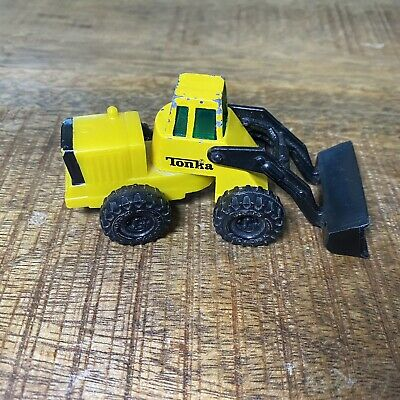 AU20.70 • Buy Tonka Tractor Front End Loader  Yellow Diecast Plastic McDonalds 1992 Loose