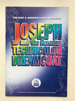 £3.50 • Buy JOSEPH AND THE AMAZING TECHNICOLOR DREAMCOAT The Musical Theatre TOUR Programme