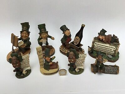 £12.50 • Buy Collection Group Job Lot Bundle 8X Blarney Stone Finnian Collectable Ornaments