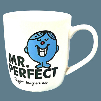 £7.99 • Buy Mr Perfect Ceramic Mug By Roger Hargreaves 50 Years Anniversary