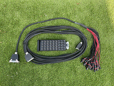 £150 • Buy 24/8 15m Stage Box Multicore/Snake System
