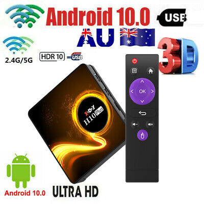 AU48.74 • Buy 2021 2+16GB Smart Android 10.0 TV BOX 4K For Netflix Prime Video Disney Wi-Fi 3D