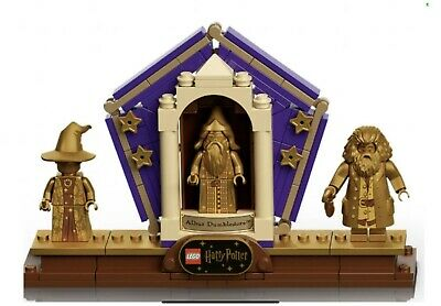 £108.37 • Buy Golden Minifigures 3 Display Stand ONLY 76391 Hogwarts Icons Pre-Sale Dumbledore
