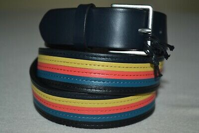£69.99 • Buy Paul Smith Mens Colour Band Belt 36  Brand New