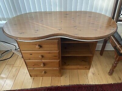 £40 • Buy Ducal Victoria Antique Pine Dressing Table With Drawers, Shelves Collection Only