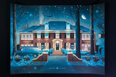 £872.92 • Buy Home Alone Limited Edition Art Print Poster By DKNG MONDO - Rare Hard To Find