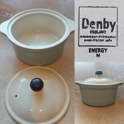£21.99 • Buy DENBY Energy Casserole Dish & Lid Cream And Green