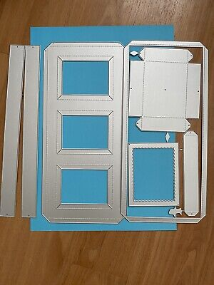 £9 • Buy Shadow Box Frames Home Decor Metal Cutting Dies Never Been Used