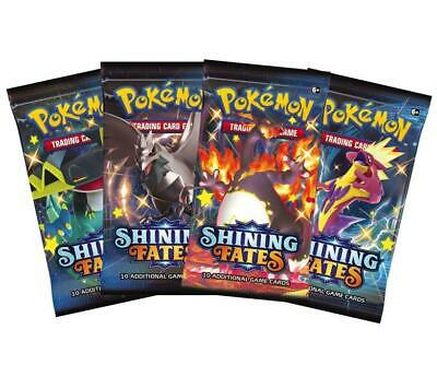 AU39 • Buy Pokemon - TCG - Shining Fates Booster Pack Options