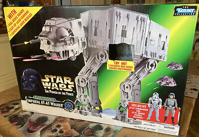 £229.99 • Buy Vintage Star Wars 1997 Mint Sealed Power Of The Force Electronic AT-AT