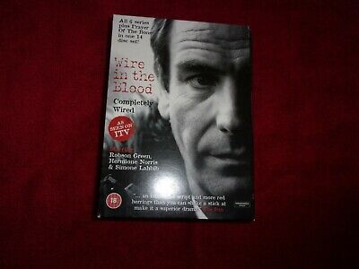 £10.99 • Buy Wire In The Blood Completely Wired Robson Green 14 Dvd Box Set With Free Post