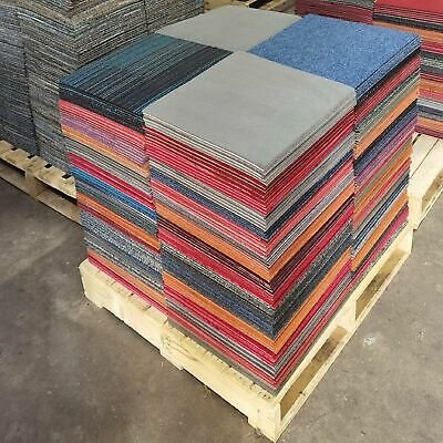 £19.99 • Buy Patchwork Carpet Tiles 5m2 Per Box FREE Delivery For SHED And GARAGE