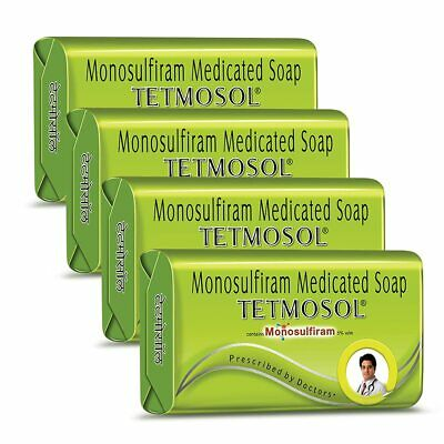 £12.23 • Buy Tetmosol Medicated Soap- Fights Skin Infections (Pack Of 4 100gm)