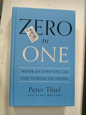 AU20.51 • Buy Zero To One: Notes On Startups, Or How To Build The Future Thiel, Peter