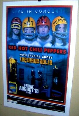 $25 • Buy RED HOT CHILI PEPPERS In Concert Show Poster RP Denver Co The MARS VOLTA COOL