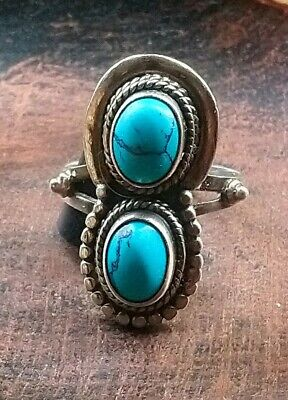 £16.61 • Buy Native American✨💗 Turquoise Ring Size O 1/2