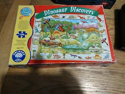 £3 • Buy ORCHARD TOYS A Can You Find JIGSAW PUZZLE ~ DINOSAUR DISCOVERY Age 5+