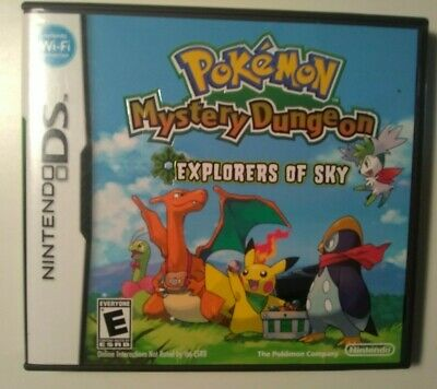 $39.99 • Buy NO GAME - Pokemon Mystery Dungeon: Explorers Of Sky Nintendo DS Case