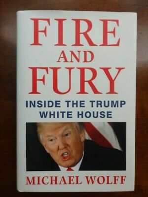 AU10.76 • Buy Fire And Fury Inside The Trump White House By Michael Wolff HC DJ 2018