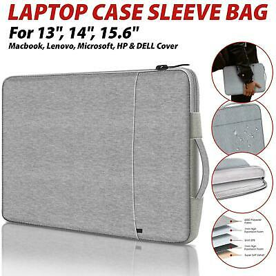 £11.29 • Buy Laptop Sleeve Bag Carry Case Cover Pouch For Macbook Air Pro HP 13.3 15.4 Inch