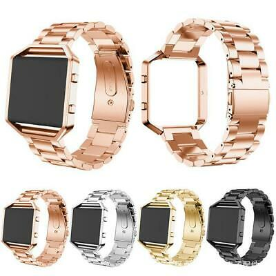 AU16.35 • Buy For Fitbit Blaze Premium Stainless Steel Watch Band Strap Luxury