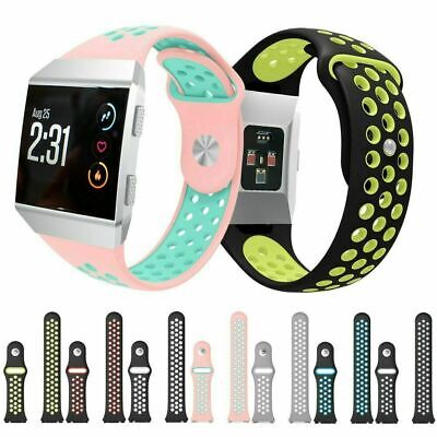 AU8.18 • Buy For Fitbit Ionic Replacement Silicone Sports Band Strap