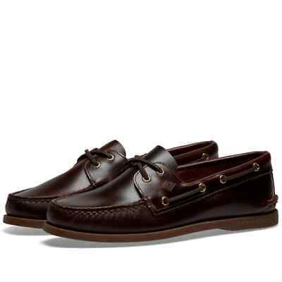 £49.99 • Buy Brand New Sperry Topsider Boat Shoes 0195214 Brown Amaretto UK 9
