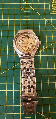 £50 • Buy Swatch Automatic Skeleton Watch Mens