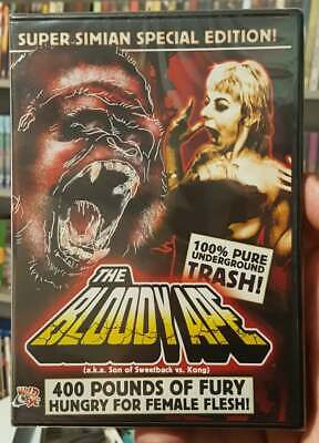 £7.23 • Buy The Bloody Ape 1997 Dvd Brand-new Sealed Wild Eye Unrated Exploitation Rare Oop