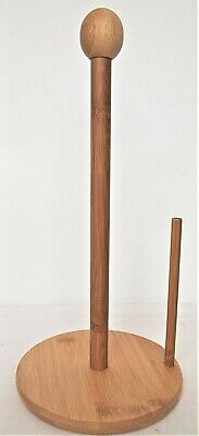AU15 • Buy  Bamboo Toilet Paper And Kitchen Towels Holder Large