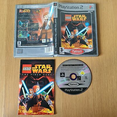 £4.99 • Buy Lego Star Wars: The Video Game Playstation 2 Ps2 Pal Game Complete With Manual