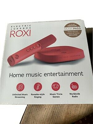 £107 • Buy Roxi Electric Jukebox Home Music Entertainment Streaming System HDMI Sealed