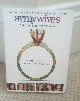 £7.27 • Buy Army Wives DVD The Complete First Season 13 Episodes Ex Condition