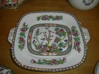 £4.99 • Buy Coalport Cake Plate And Saucers Indian Tree