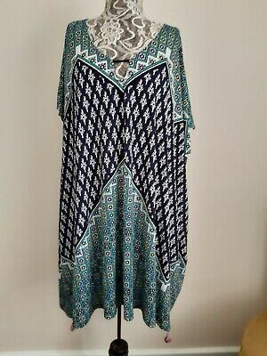 AU31 • Buy Tigerlily Relaxed Stretch Fabric Dress Size Small Will Fit Upto 14