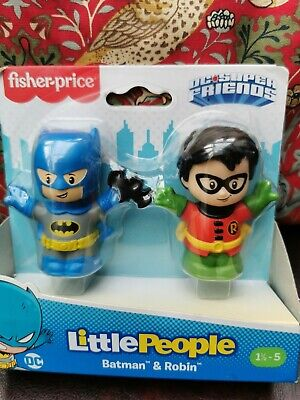 £10 • Buy Fisher Price Little People Batman And Robin