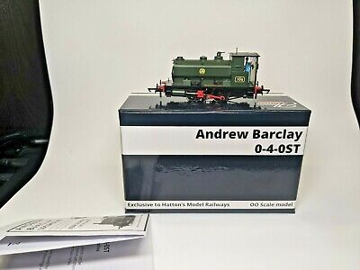 £72 • Buy Hattons 0-4-0 H4-AB14-002 GWR Andrew Barclay GWR 705 - OO Gauge - DCC