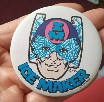 £2.50 • Buy Ice Maker 1980 Pin Badge Collectable Vintage Advertising