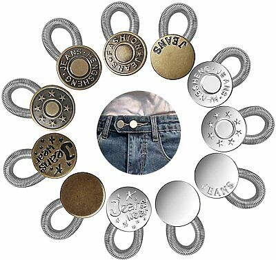 £4.99 • Buy Waist Band Extender Expander Button Trousers Maternity Jeans Elastic Waistband