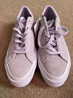 £24.99 • Buy Converse All Star Size 5 New  One Star Lilac Water Repellent