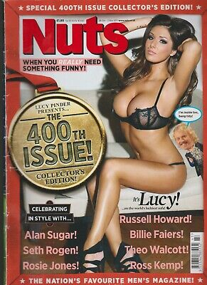 £8.50 • Buy Nuts Magazine Oct 2011 400th Collectors Issue Lucy Pinder Rosie Jones.