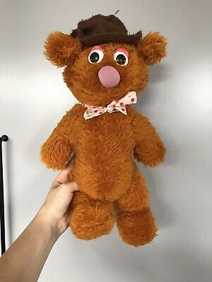 £9 • Buy Vintage Soft Plush Cuddly Toy - Muppets Fozzie Bear See Pics
