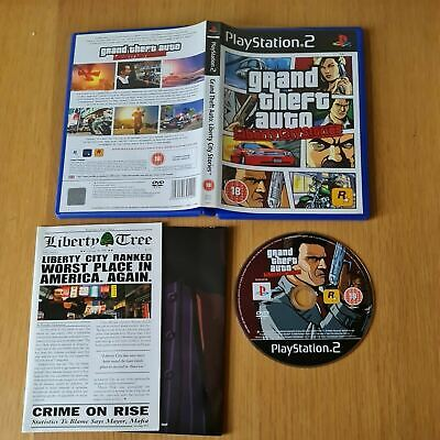 £4.99 • Buy Grand Theft Auto: Liberty City Stories Playstation 2 Ps2 Pal Game Complete