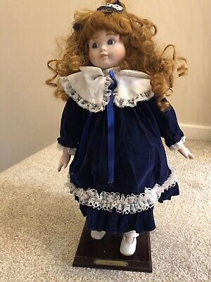£3.75 • Buy Porcelain Doll With Stand