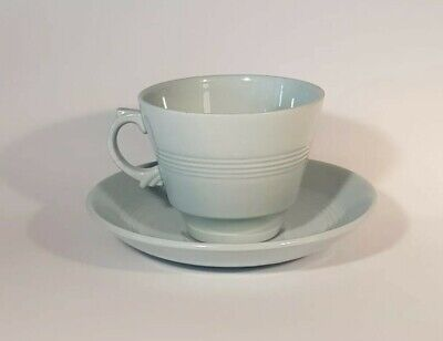 £4.40 • Buy Woods Ware Iris Blue Cup And Saucer